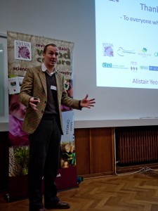 Alistair Yeomans speaking at the British Woodlands 2012 Conference