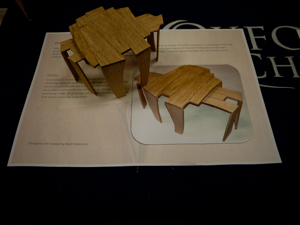 OneOak fine furniture competition winner entry
