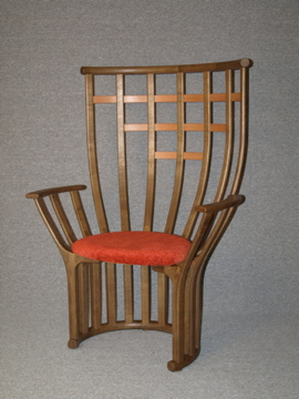 The OneOak throne chair by Robert Ingham